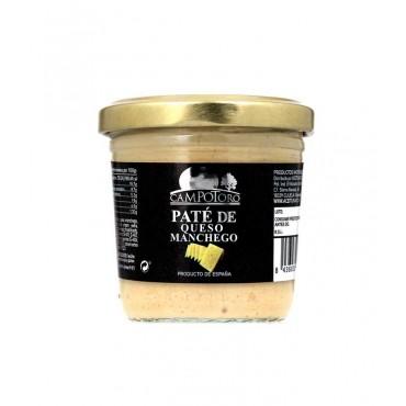 Paté de queso manchego