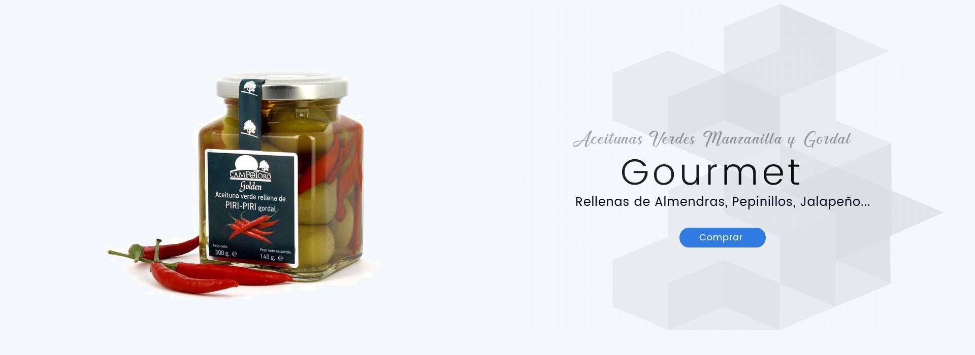 Aceitunas Verdes Manzanilla y Gordales Rellenas